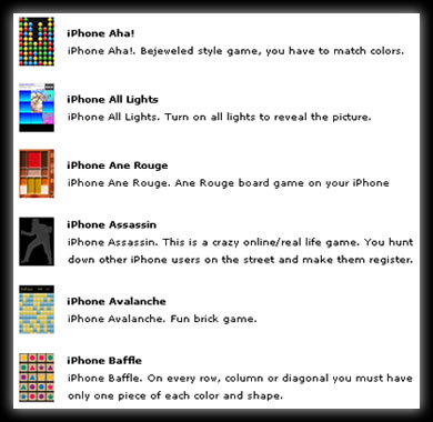 Juegos para iPhone y iPod Touch Gratis!